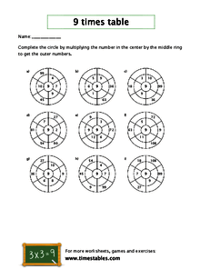 Free 9 times table worksheets at timestables watch worksheet ibookread Read Online